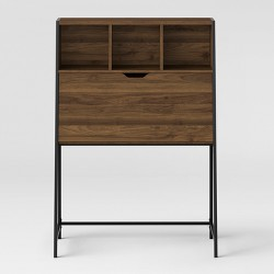 Loring Wood Secretary Desk with Hutch - Project 62™