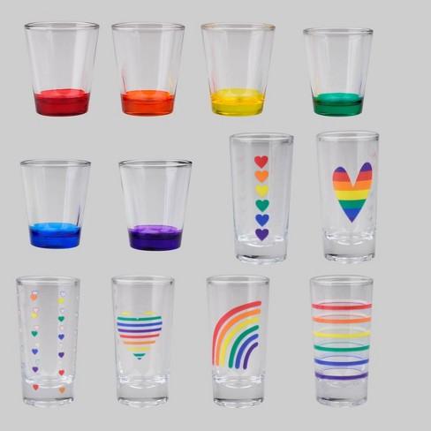 2pk 12pc Pride Shot Glasses - Bullseye's Playground™ - image 1 of 3