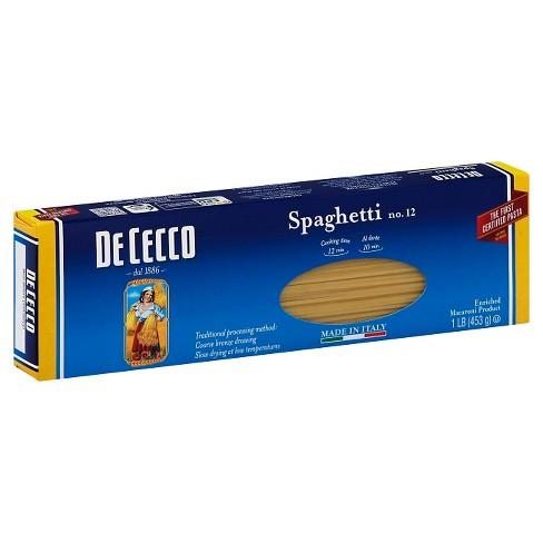 De Cecco Spaghetti Pasta - 16oz - image 1 of 1