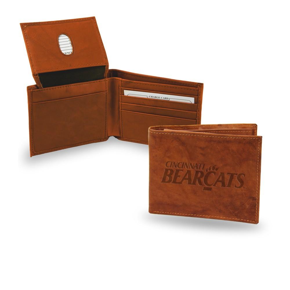 Cincinnati Bearcats Rico Industries Embossed Leather Billfold Wallet