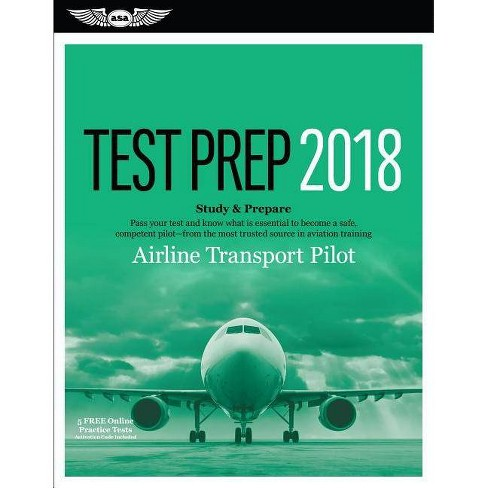 Airline Transport Pilot Test Prep 2018 - by Asa Test Prep Board (Mixed  media product)