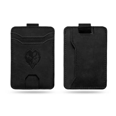 NFL Baltimore Ravens Leather Front Pocket Wallet