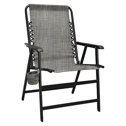 Caravan Global XL Suspension Folding Chair - Gray - image 1 of 1