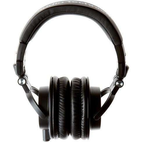 134bc19cae3 Audio-Technica ATH-M50x Closed-Back Professional Studio Monitor Headphones  Black : Target