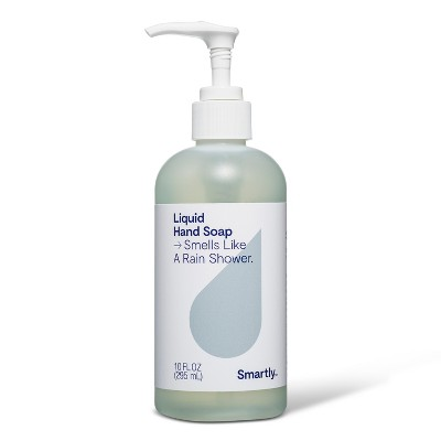 Rain Shower Scented Liquid Hand Soap - 10oz - Smartly™