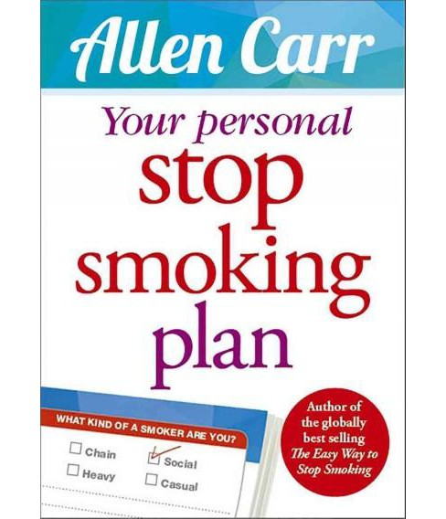 Your Personal Stop Smoking Plan (Paperback) (Allen Carr) - image 1 of 1
