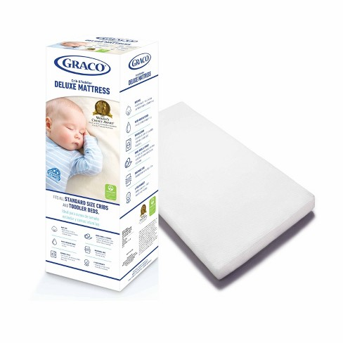 Graco Deluxe Foam Crib and Toddler Mattress - image 1 of 4
