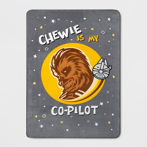 Star Wars® Chewbacca Twin Blanket - image 1 of 1