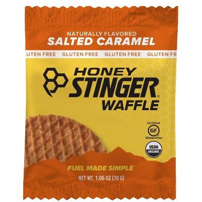 Honey Stinger Gluten Free Salted Carmel Waffle Nutrition Bar