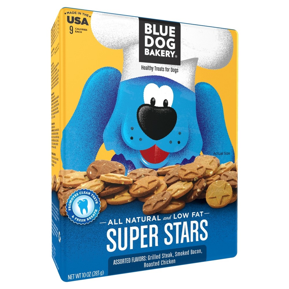 Blue Dog Bakery Super Stars Dog Treats 10oz.