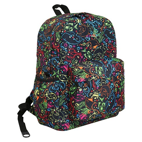 J World Oz Campus Backpack - Doodle - image 1 of 4