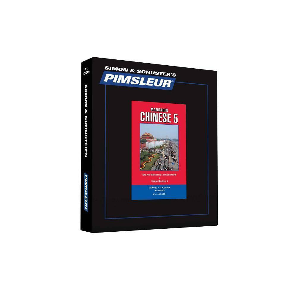 Pimsleur Chinese (Mandarin) Level 5 CD - (Comprehensive) (AudioCD)