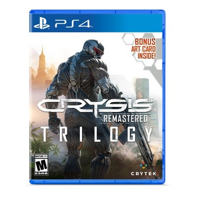 Crysis Remastered Trilogy - PlayStation 4