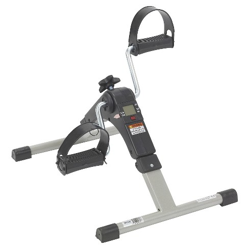 Drive Medical Folding Exercise Peddler with Electronic Display, Black - image 1 of 4