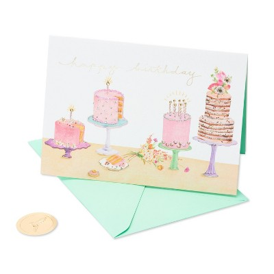 Multiple Cakes Card - PAPYRUS