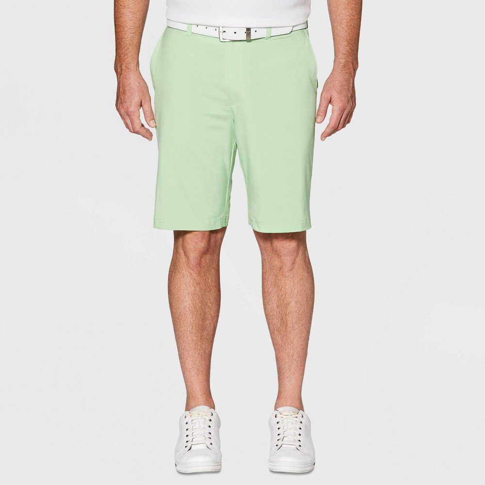 Jack Nicklaus Men's Heathered Golf Shorts - Green Ash Heather 36