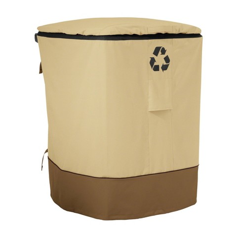 Veranda Outdoor Recycling Cart Cover - Classic Accessories - image 1 of 4