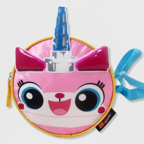 ed067f7850 Girls  The LEGO Movie UniKitty Crossbody Bag - Light Pink   Target