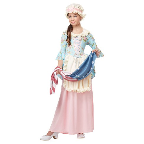 Girls' Betsy Ross Colonial Costume - image 1 of 1