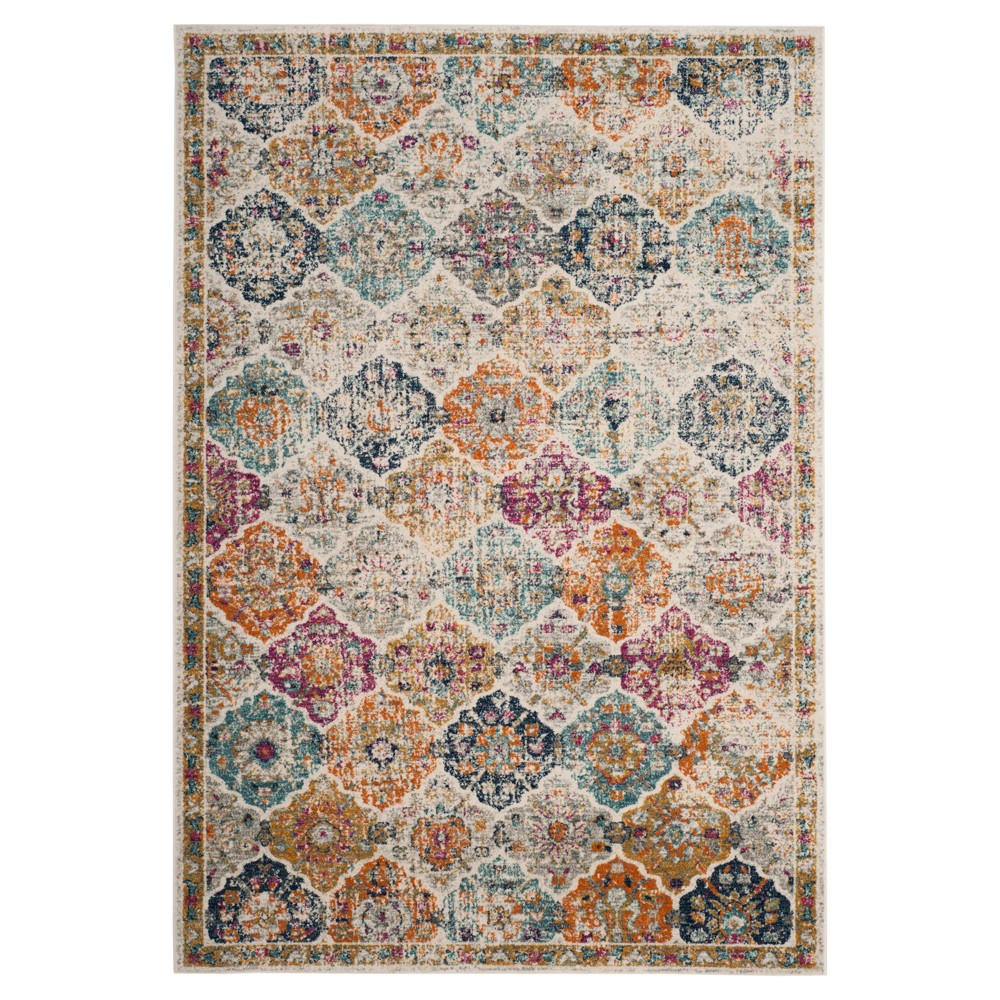 Shapes Loomed Area Rug 5'1