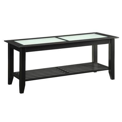 Carmel Coffee Table Black - Convenience Concepts