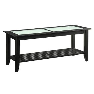 Carmel Coffee Table Black - Johar Furniture