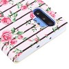 For Samsung Galaxy Note 10 Plus Pink Fresh Roses MyJacket Leather Case w/stand - image 3 of 3