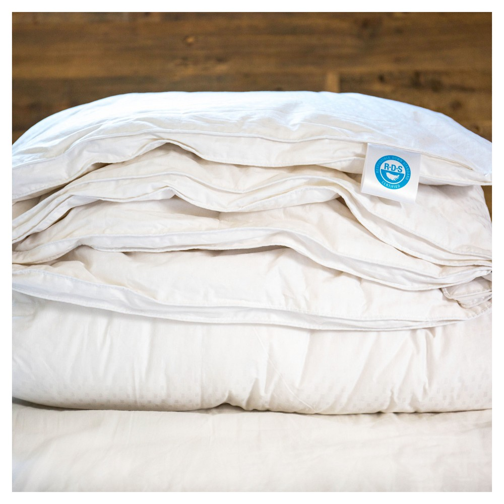 Image of Responsible Down Standard Luxury White Goose Down King Comforter