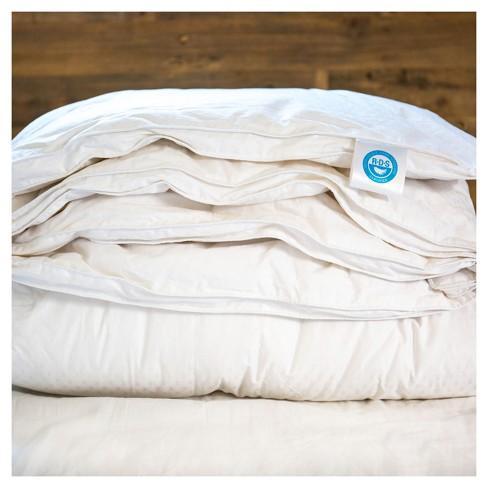 Luxury White Goose Down Comforter 600 Fill Power