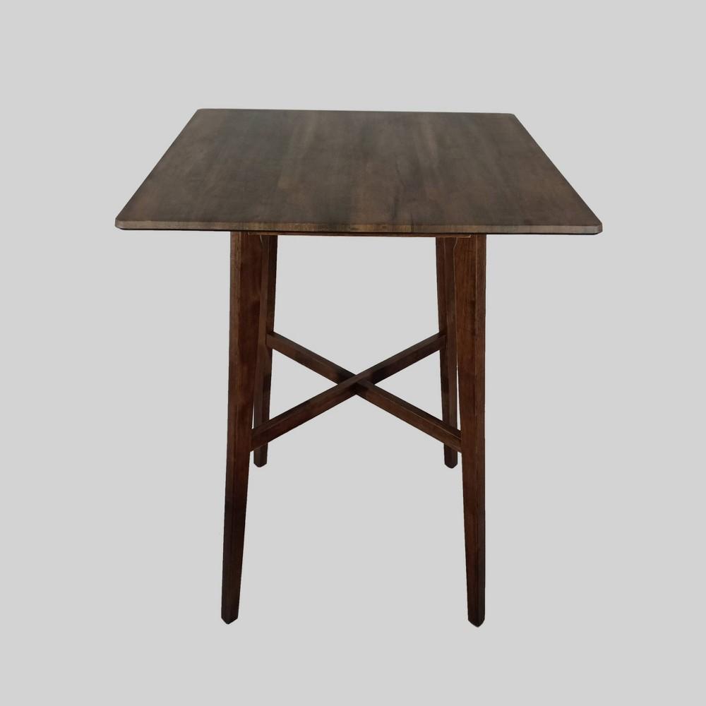Kenilworth Modern Rectangle Bar Table Walnut Finish - Christopher Knight Home