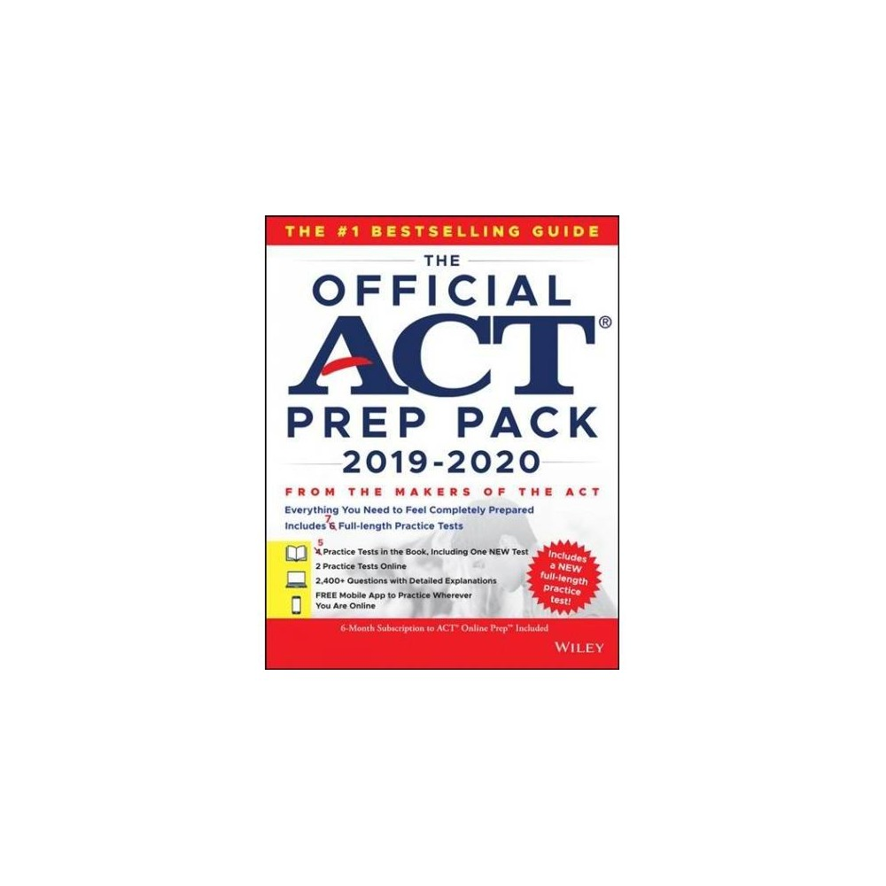 Official Act Prep Pack With 7 Full Practice Tests (5 in Official Act Prep Guide + 2 Online) : Website