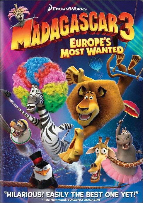 Madagascar 3: Europe's Most Wanted (dvd_video) - image 1 of 1