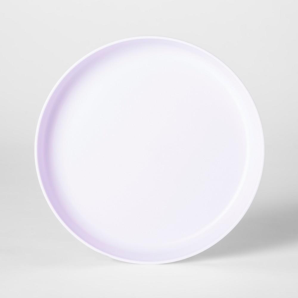 7.3 Plastic Kids Plate Purple - Pillowfort