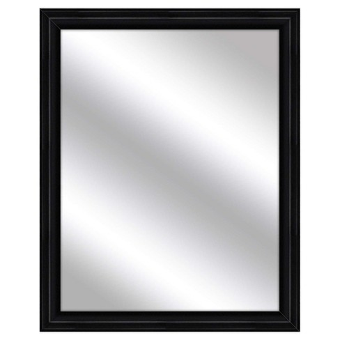Decorative Wall Mirror PTM Images Black - image 1 of 1