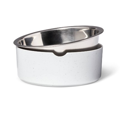 Speckle Melamine Dog Bowl - Gray - 28oz - Boots & Barkley™