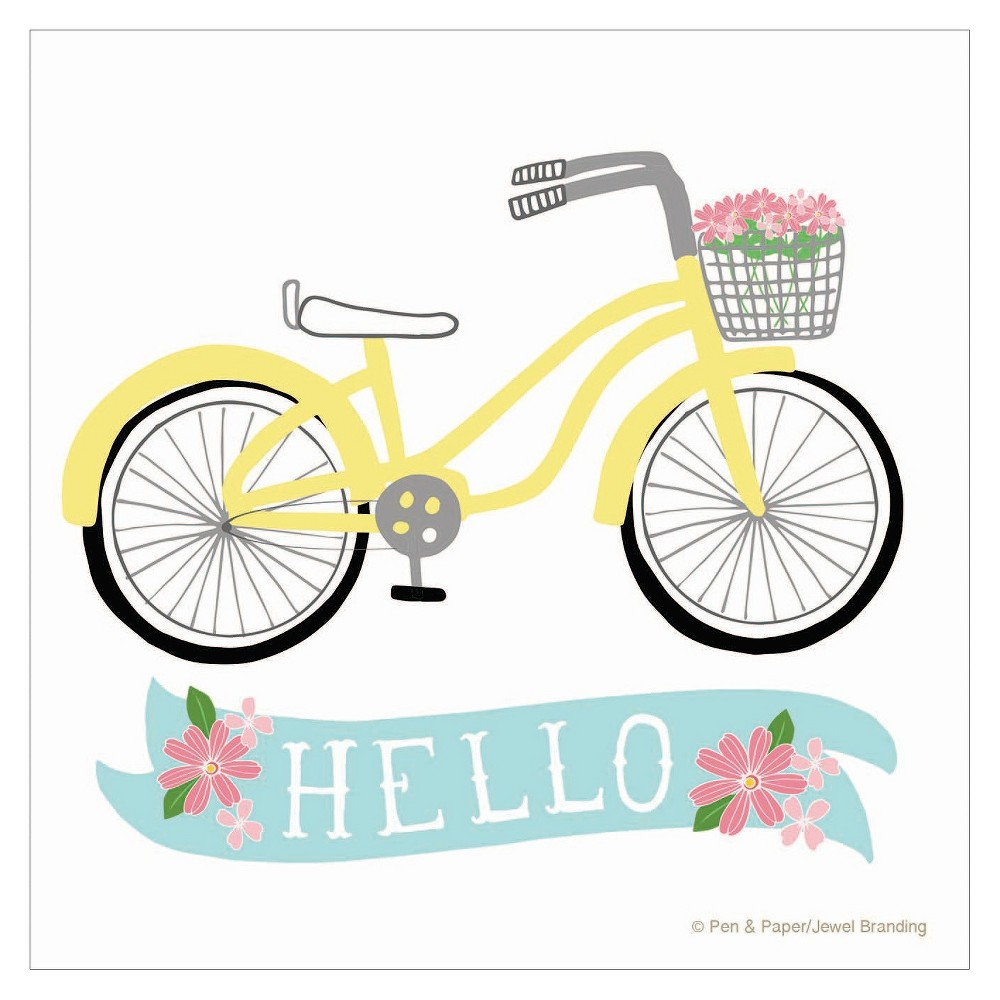 Image of Thirstystone Hello Bike Coaster Set of 4