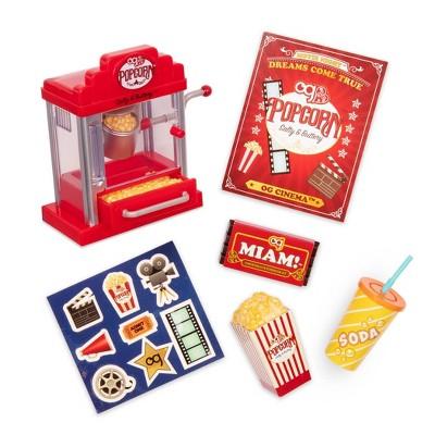 "Our Generation Retro Popcorn Machine for 18"" Dolls - Pop Pop Popcorn Set"
