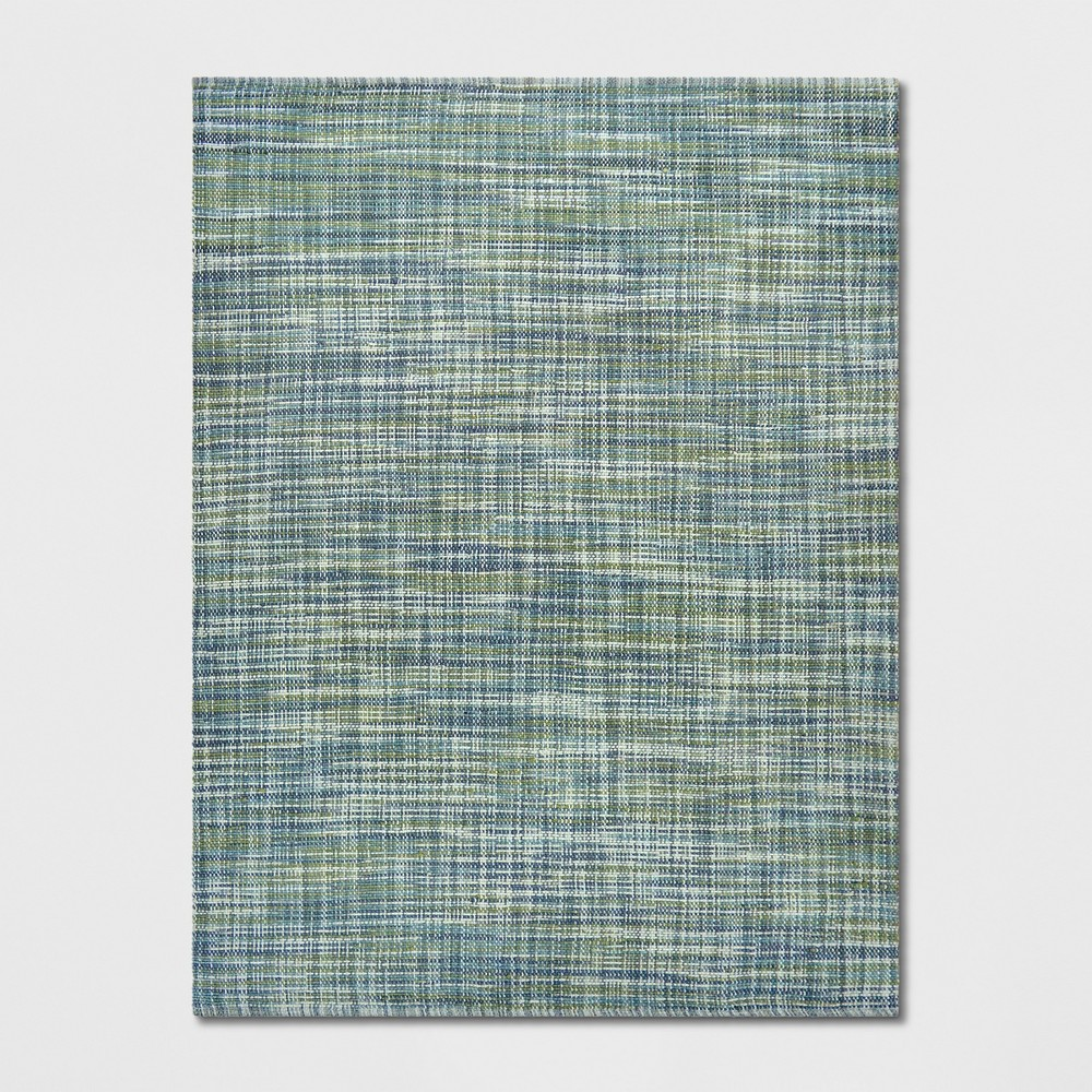 9'X12' Basketweave Tie Dye Design Area Rug Green - Project 62 was $399.99 now $199.99 (50.0% off)
