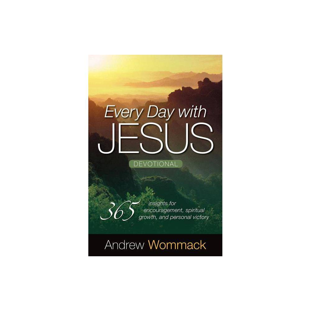 Every Day With Jesus Devotional By Andrew Wommack Paperback