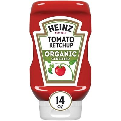 Heinz Organic Tomato Ketchup - 14oz