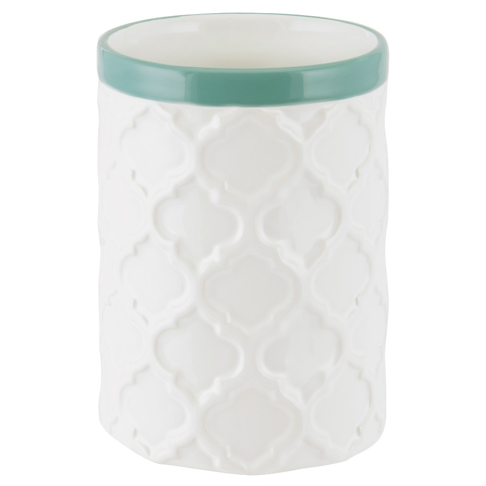 Image of Watery Floral Tumbler - Allure