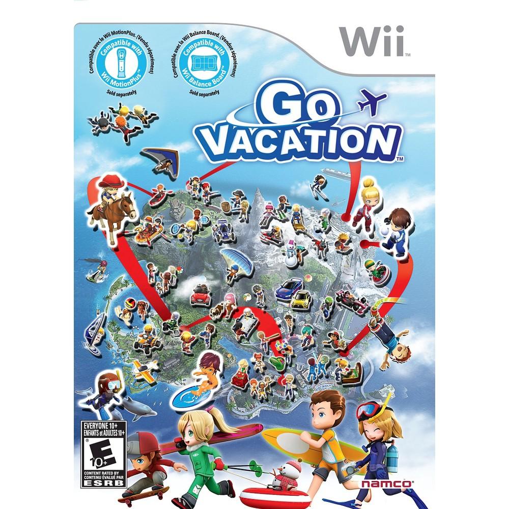 Go Vacation Nintendo Wii, video games