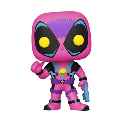Funko POP! Marvel: X-Men Classic - Deadpool (Blacklight) (Target Exclusive) - image 1 of 2