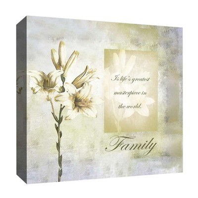 """16"""" x 16"""" Family Decorative Wall Art - PTM Images"""
