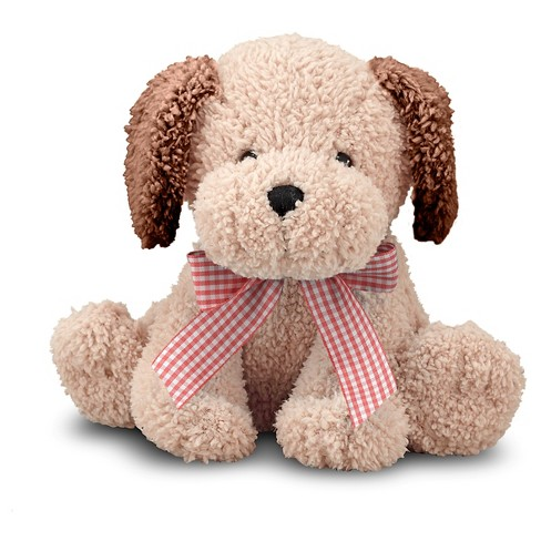 Melissa & Doug® Meadow Medley Golden Puppy - Stuffed Animal Dog With Barking Sound Effect - image 1 of 1
