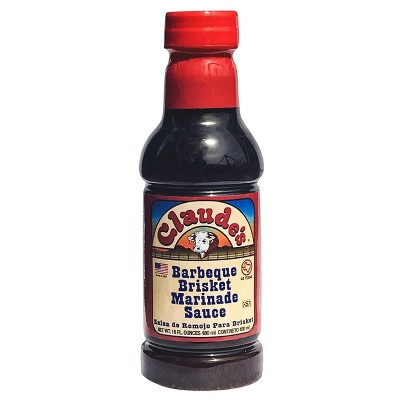 Claude's BBQ Brisket Marinade Sauce - 16 fl oz