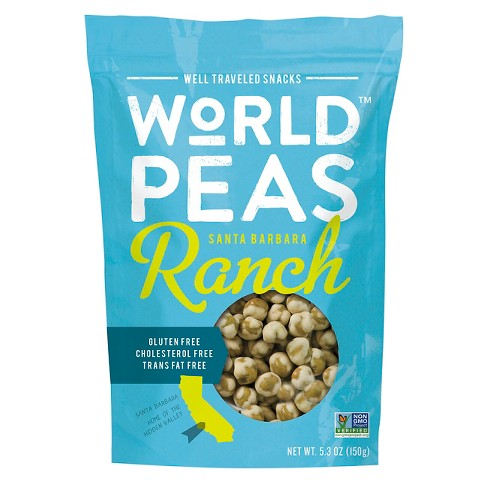 World Peas Ranch Green Peas 5.3 oz - image 1 of 1
