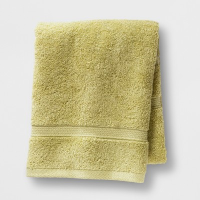 Soft Solid Hand Towel Green - Opalhouse™