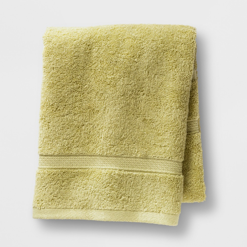 Soft Solid Hand Towel Green - Opalhouse