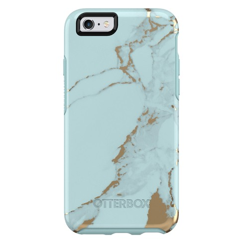 OtterBox Apple IPhone 6 6s Symmetry Case - Teal Marble   Target b991bd8a07